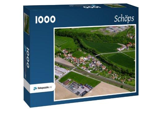 Preisvergleich Produktbild Schöps - Puzzle 1000 Teile mit Bild von oben