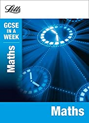 Maths (Letts GCSE in a Week Revision Guides)