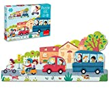 Goula- Puzzle XXL vehículos, (453428)