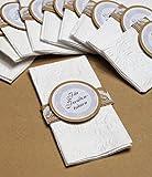 unser schönster Tag 10 Taschentücher Freudentränen Hochzeit TT0074 Vintage Spitze