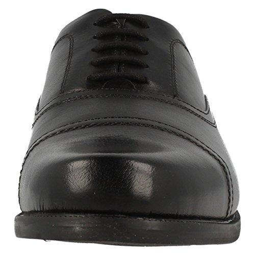 Clarks Beeston Cap, Brogues homme Black Leather