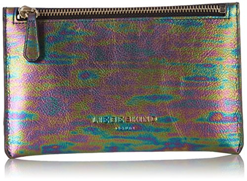 Liebeskind Berlin Kiwiw7 Oilsli, Women's Bag Organiser, Mehrfarbig  (Multicol  Oil Slick), 1x13x20 cm (B x H T)