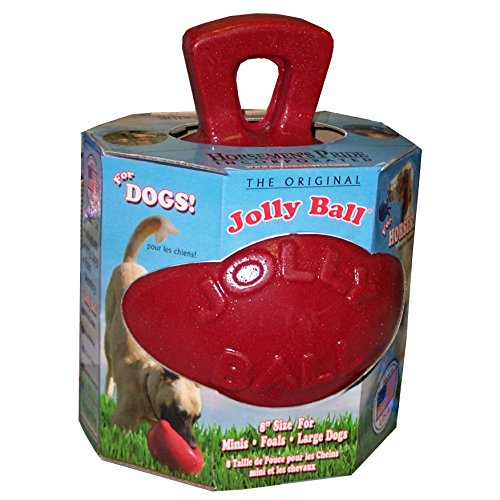 Jolly Ball 20cm red Horse+Dog - Rood (Red Ball Horse)