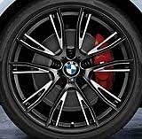 Original BMW Alufelge 1er F20 F21 M Doppelspeiche 624 Schwarz matt in 19 Zoll für vorne