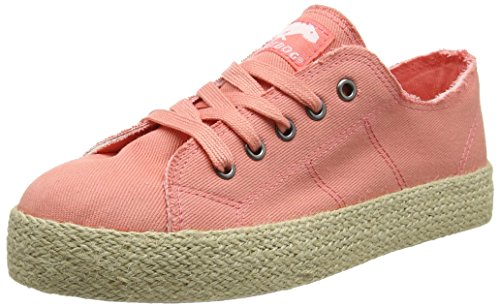 Rocket Dog Madox, Basses femme Pink (Debs Denim Peach)