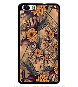 PRINTSWAG FLOWERS PATTERN Designer Back Cover Case for HUAWEI HONOR 6