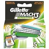 Gillette M3 Power Klingen, 5 Stück