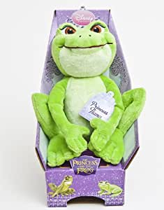 Disney Princess Kiss the Frog Peluche Tiana assise 25 cm
