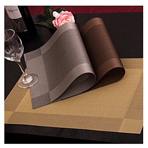 Dining Table Placemats Grey Coff...
