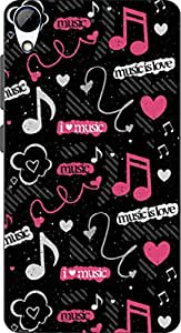 ECO SHOPEE PRINTED BACK COVER FOR HTC DESIRE 828 ARTICLE-25599
