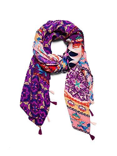 Desigual 19sawf93 sciarpe e foulards accessori lilla tu