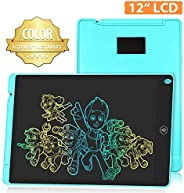 HOMESTEC LCD Schreibtafel 8,5 Zoll, Schreibtafel Buntes Display Kinder Laptop für Notieren/Zeichnen, Optimaler