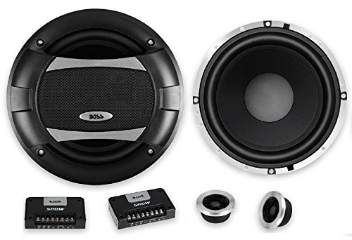 BOSS AUDIO PC65.2 Phantom Serie 6.5 Zoll 16,5 cm 500 Watt 2-Wege Lautsprecherpaar - Boss Car Audio