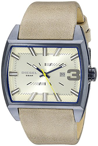 Diesel End of Season Fleet Analog Beige Dial Men\'s Watch - DZ1703