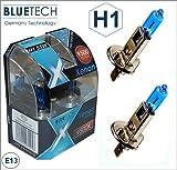 BLUETECH H1 55W 9500K Xenon Effekt 2er Set mit StVZO Zulassung