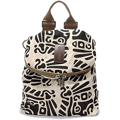 Mujer Clasico Laptop Backpack Rucksack Mochila Escolar para Uso Diario /Escolar/Oficina/viajes/Calle/ Mochila de Senderismo