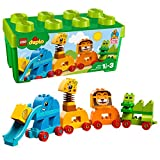 LEGO Duplo 10863 - Meine erste Steinebox mit Ziehtieren, Kreatives Spielen von LEGO®
