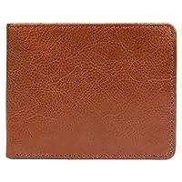 Hidesign Bifold Wallet For Men - Flap Wallets, Genuine Leather, Tan