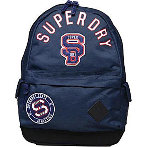 Superdry - Stadium Montana Hombre Color: Navy Talla: U