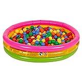 Selonis Babys Planschbecken Babypool Schwimmbad Mit Bällen Pool,...