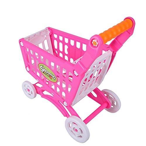 2ec3a775ddcb Carrello della spesa Giocattolo, Bambini Supermercato Simulazione Carrello  della spesa Giocattolo Pretend Ruolo Gioco Cibo