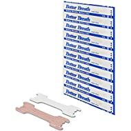 100 PCS BETTER BREATH NASAL STRIPS FOR REDUCING SNORE BREATHING AID PATCH FOR BETTER SLEEP ∣ ENLARGE AIRWAY ∣ IMPROVE SPORT PERFORMANCE (66*19MM, 100PCS)