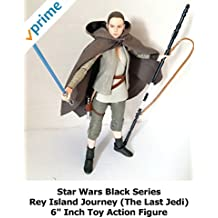 """Review: Star Wars Black Series Rey Island Journey (The Last Jedi) 6"""" Inch Toy Action Figure"""
