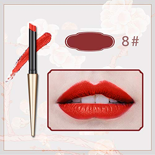 Rifuli® Brand New 12 Colors Matte Ball Head Lipstick Waterproof Durable Makeup Tube lippenstift