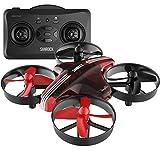 SANROCK Mini Drohne für Anfänger und Kinder GD65A RC Drone Quadrocopter mit Höhe-halten, Kopflos-Modus, EIN-Tasten-Rückkehr, Spielzeug Drone für Kinder, Farbe rot