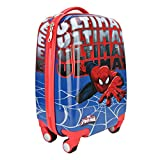 Best Disney Bags For Travels - Humty Dumty Spiderman Polycarbonate Blue Suitcase - Kids Review
