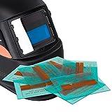 awm® WH01B Automatik Schweißhelm Ersatzgläser 10x Außen 114 mm x 89 mm Ersatzscheiben Vorsatzscheiben Schutzscheiben