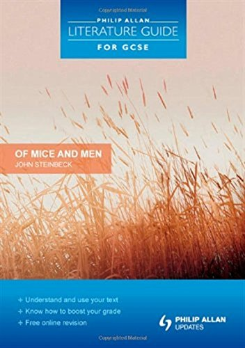 """Philip Allan Literature Guide (for GCSE): """"Of Mice and Men"""" Study and Revision Guide"""