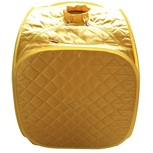 Portable Dampfsauna Fold Treatment Personal Lose Weight Spa Familie Indoor + Stuhl und Fernbedienung...