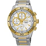 Best Seiko Of 2 Tones - SSB188P1 Seiko Mens Two Tone Stainless Steel 100m Review