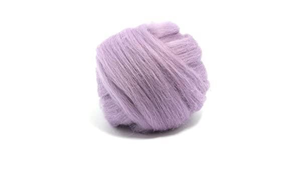 50g DYED MERINO WOOL TOP CANDYFLOSS LIGHT BABY PINK DREADS 64/'s SPINNING FELTING