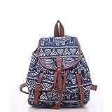 winomo filles Mesdames sac sac à dos sac à dos sac d'école toile Casual pour sac à dos