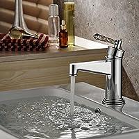 WP- Europeo - stile rubinetto del bacino del rubinetto di ceramica rubinetto caldo e freddo