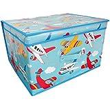 Children's Jumbo Planes Storage Chest / Toy Box