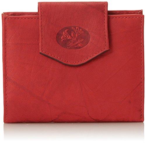 Buxton , Damen Clutch Einheitsgröße, Rot - rot - Größe: One size (Geldbörse Damen Buxton)