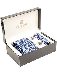 Cazzano Checkered Men's Tie Set (TCPNC135)