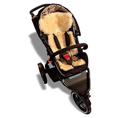 Bowron geschoren Lammfell Kinderwagen Fleece (Shopper Lammfell)