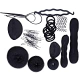 ZeWoo 8 Tipi di Hair Styling Tool - Mix Accessori Set per Capelli Donne Ragazze Bellezza, Utensili Clip di Capelli, Rilievi, Capelli Pins, Pastiglie, Schiuma, Sponge, Ciambella