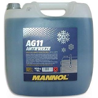 MANNOL 15777100000 Antifreeze AG11-40 Kühlerfrostschutz Kühlmittel 10L MN4011-10
