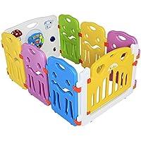 Yorbay Box per bambini Recinto modurabile espandibile per la Sicurezza del Bambino. 8 pezzi/12 pezzi/14 pezzi/18 pezzi da scegliere.