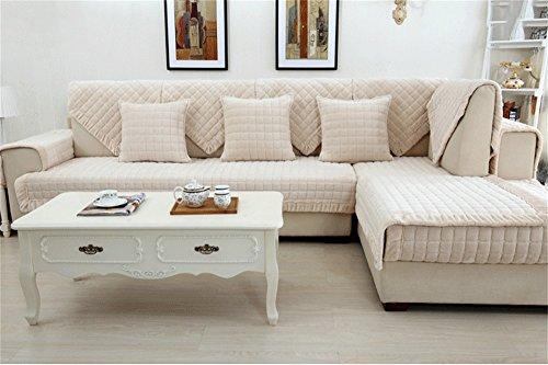 MEHE@ romantique élégant luxe personnalité créatif Contemporain Haut Grade Canapé Coussin Tissu Housse Canapé Serviette (taille : 110 * 240cm)