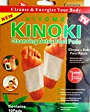 #8: Oceanic Healthcare Kinoki Detox Foot Patches with 10 Pads and Adhesive Sheet