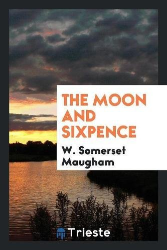 Book cover for The Moon and Sixpence
