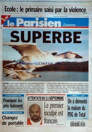 PARISSIEN DE L'ESSONNE (LE) [No 17809] du 12/12/2001 par COLLECTIF