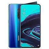OPPO Reno2 Reno 2 8 Go+128 Go Qualcomm SDM730G 48MP Dual SIM VOOC 3.0 Smartphone (8 Go+128 Go, Océan Bleu)
