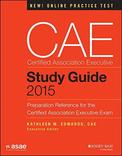 CAE Study Guide 2015 (The ASAE Series) por Kathleen M American Society Of Association Executives Asae